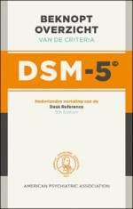 Beknopt overzicht van de criteria van de DSM-5