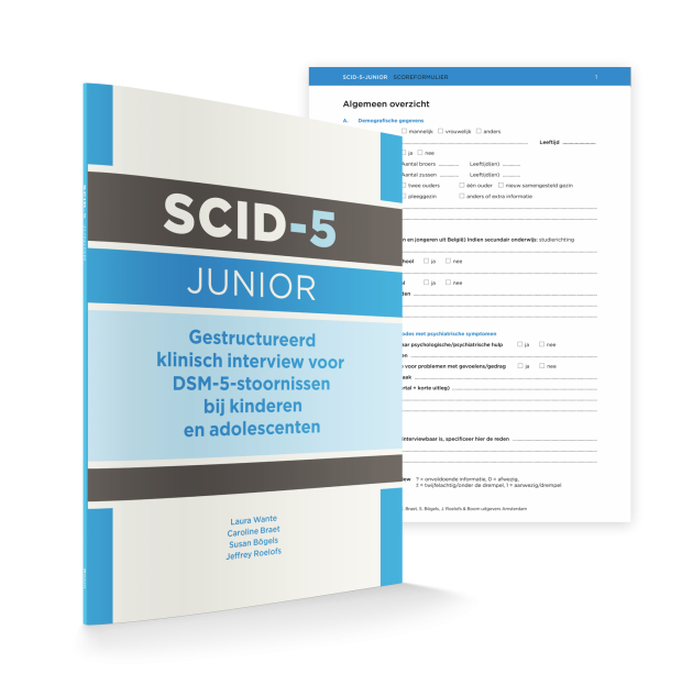 Online training: SCID-5 Junior