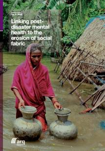Linking post-disaster mental health to the erosion of social fabric