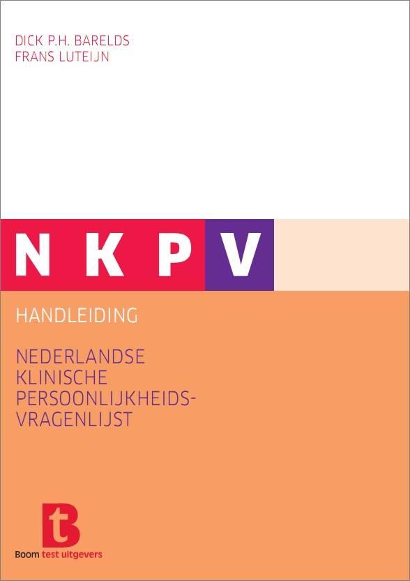 nkpv nieuwe persoonlijkheidsvragenlijst voor klinische praktijk meet
