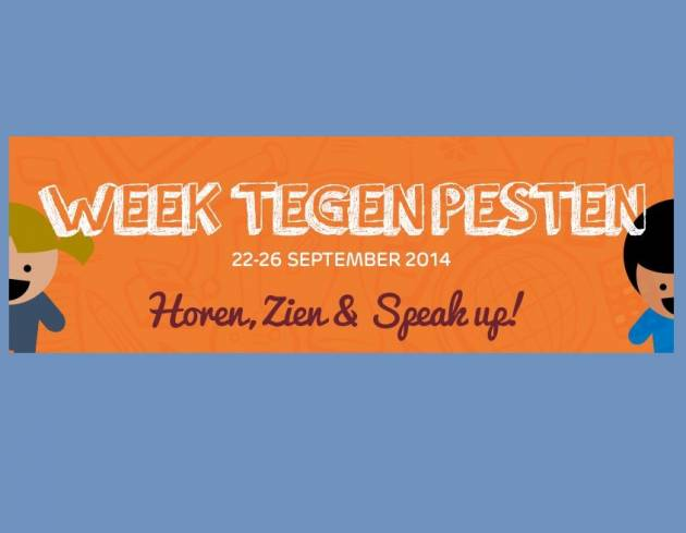 22-26 september: Week tegen Pesten